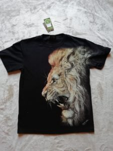 HD Lion 1 T-Shirt Image