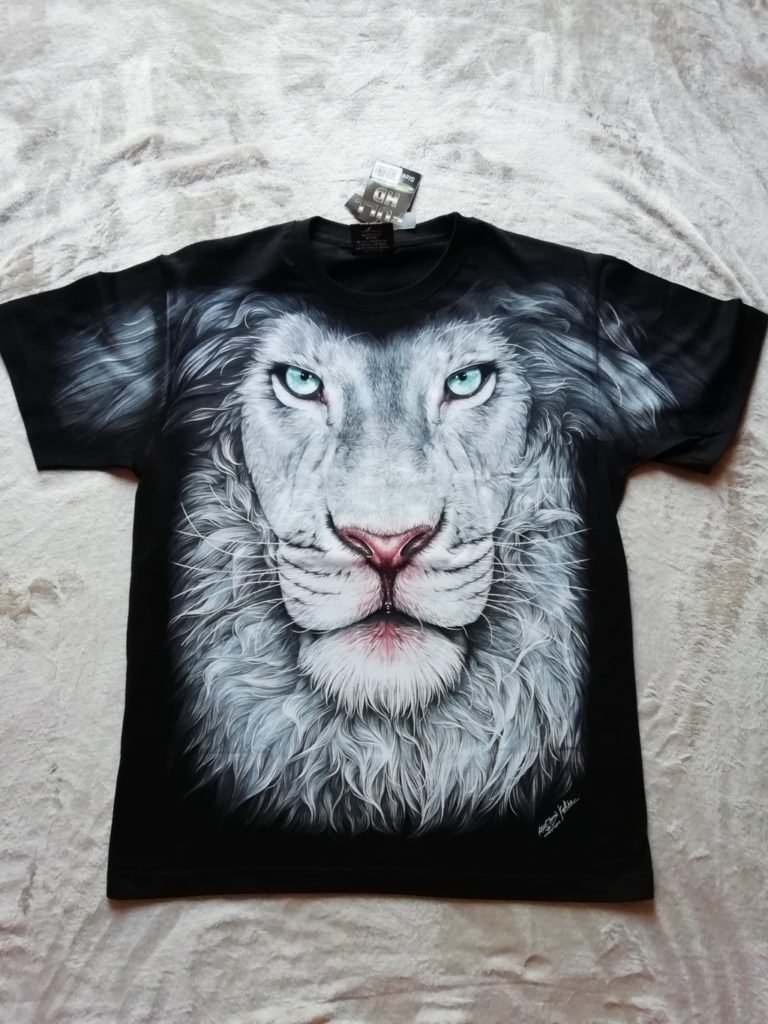 HD Lion4 T-Shirt Image