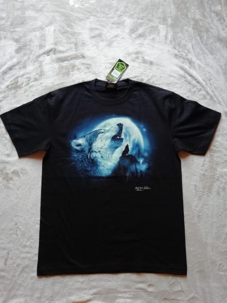 HD Wolf2 T-Shirt Image